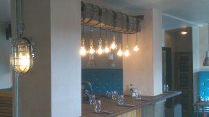 Restaurant hanging lighting