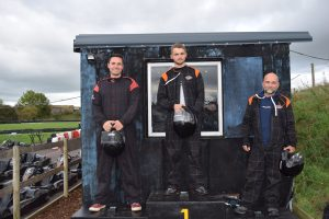 Karting racing winners