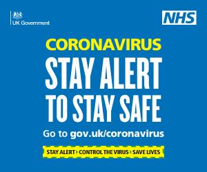 Cornonavirus stay safe to stay alert