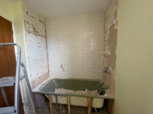 Tom Courts and Becca's home improvements