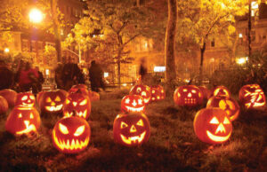 This coming Saturday is Halloween